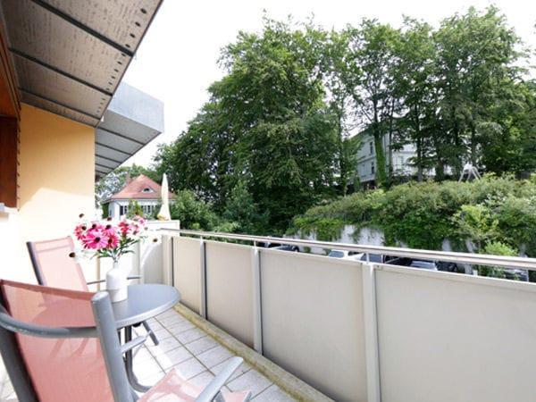 Balkon Schlafzimmer OG