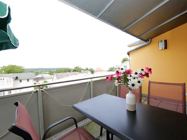 Balkon vom Wohnbereich