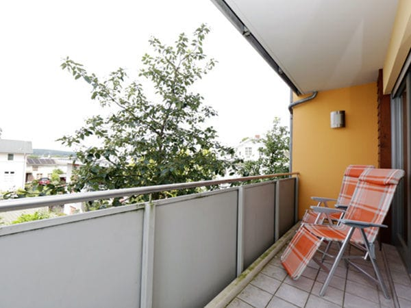 Balkon Schlafzimmer EG