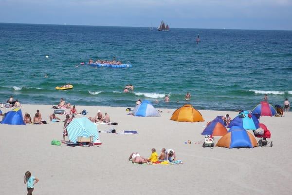 Strand im Sommer