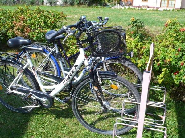 Unsere Fahrräder ( Nutzung auf eigene Gefahr, keine offiziellen Leihräder, keine Haftung, keine ständige Kontrolle der Verkehrsicherheit.bitte selbst prüfen)