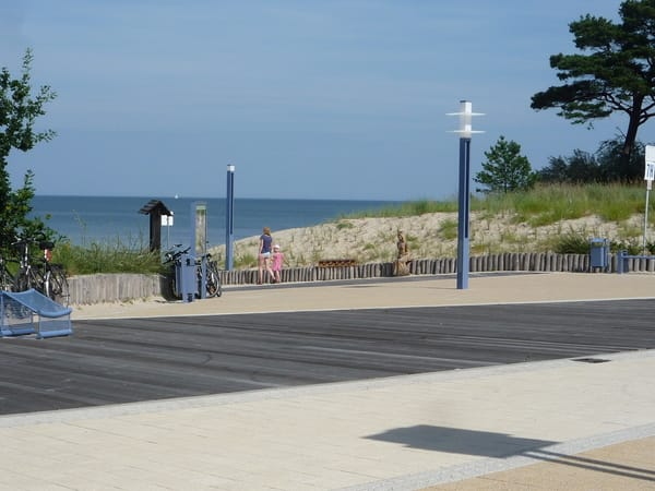 Strandpromenade Seebad Zempin