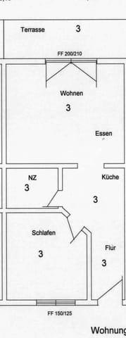 Grundriss WG 3