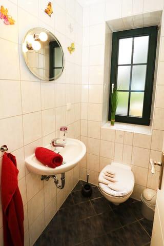 Gäste WC im Untergeschoß