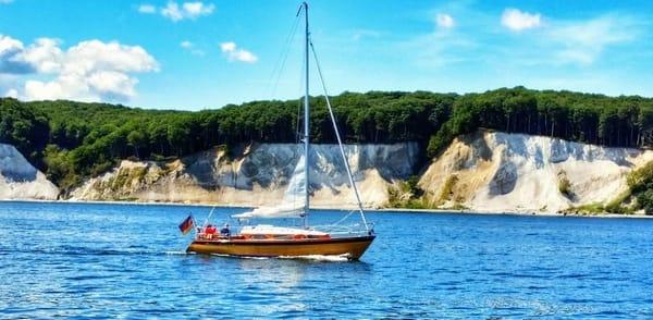 Bootsfahrt vor den Kreidefelsen
