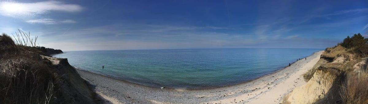 Ostseeküste  von Rügen