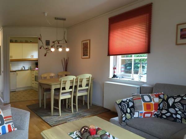 Ferienhaus Residenz zu den 3 Tannen Zingst - Wohn- und Essbereich