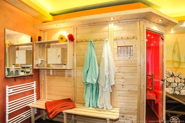 Sauna - Eingangsbereich
