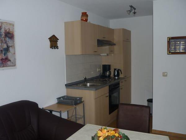 Wohnzimmer Küchennische