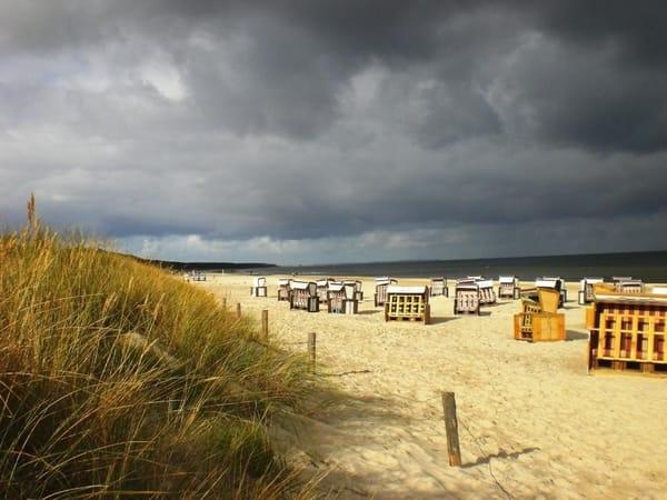 Strand Karlshagen im Oktober