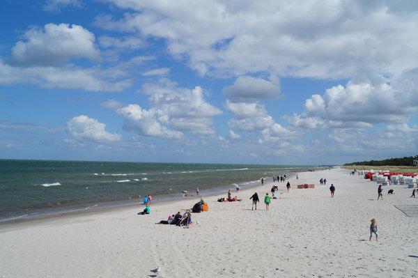 der Strand von Prerow