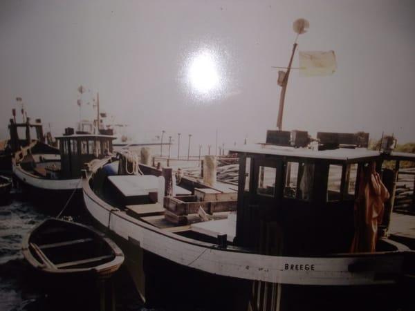 Alte Fischerei Kutter am Hafen von Breege