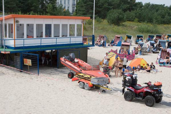Alte Strandwache in Zinnowitz