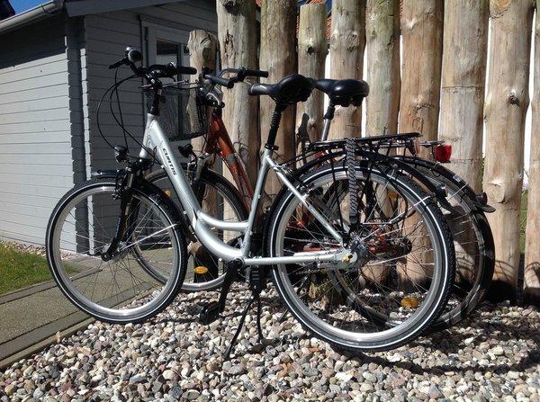 Zwei Fahrräder können gratis genutzt werden