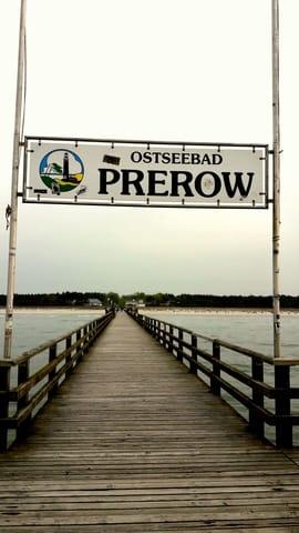 Immer einen Spaziergang wert. Die Seebrücke von Prerow.