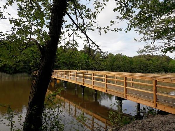 Neue Brücken über dem Prerowstrom
