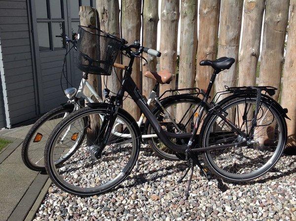 Für Sie gratis: Zwei Fahrräder
