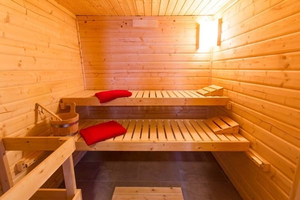 Heißes Vergnügen: Die Sauna