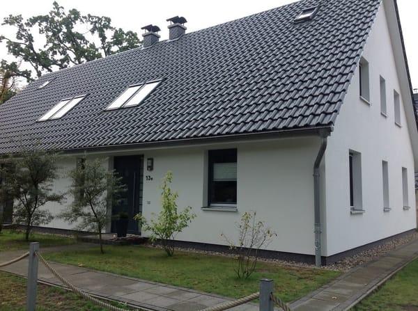 Die Hauseingangsseite