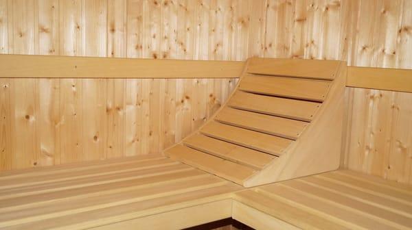 Bad unten mit Sauna