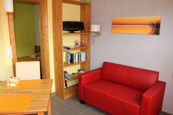 Die Wohnung ist mit Fotomotiven von der Insel dekoriert, die Ihre Gastgeber selbst geschossen haben.