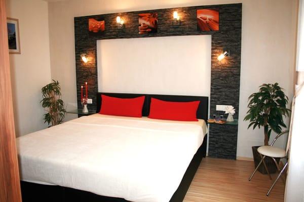 Schlafzimmer - FeWo I im Erdgeschoss