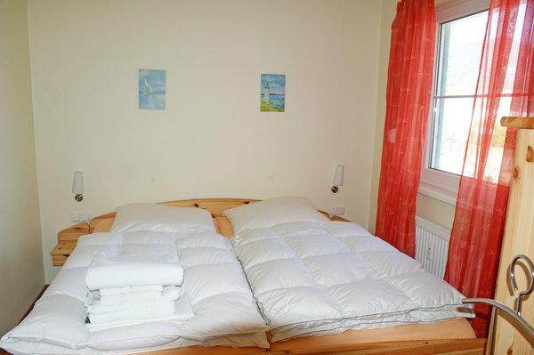 Ferienwohnung Hafenidyll Nr. 40 - Schlafzimmer