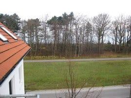 Blick vom Balkon zur Ostsee