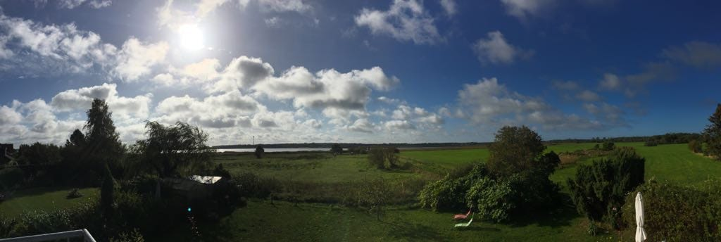 der Panoramablick vom Haus aus