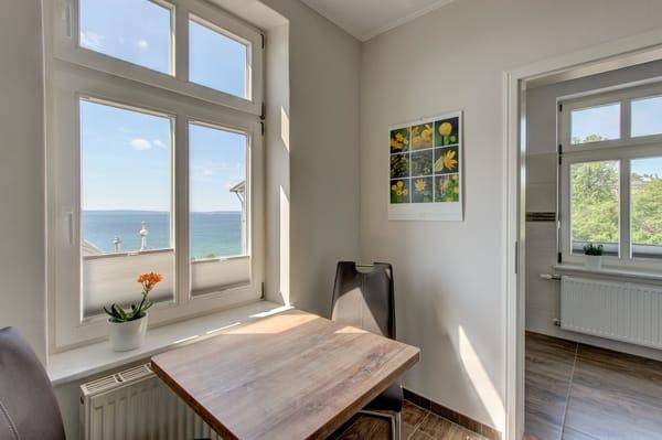 Küche mit Meerblick