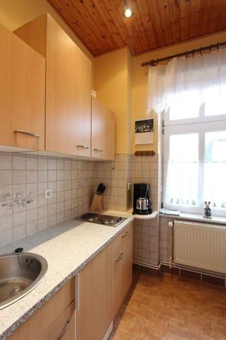 Kleine separate Küche