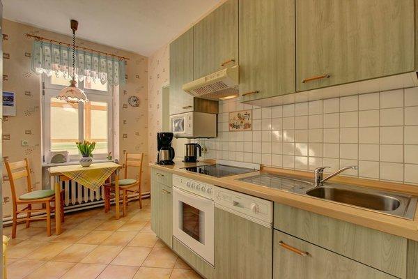 helle, separate Küche