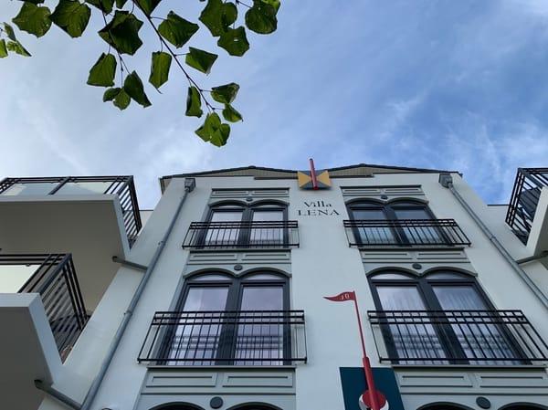Villa Lena  - Blick nach oben