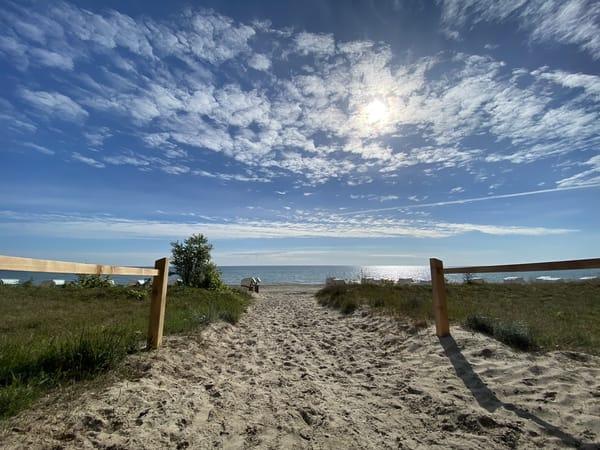 Baden und erholen in und an der Ostsee
