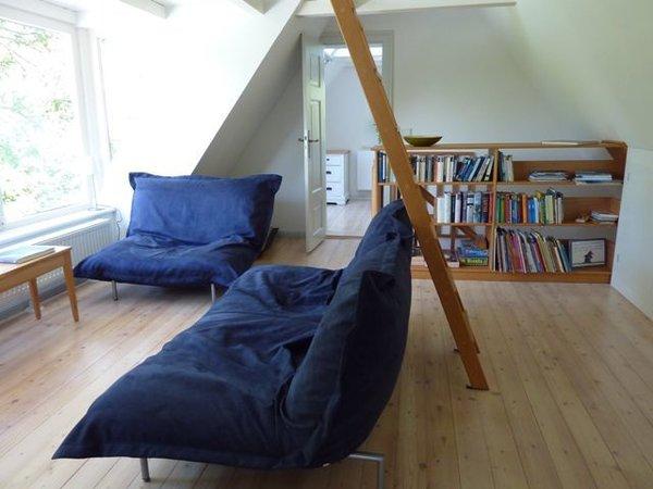 Sofa mit Blick auf den Bodden