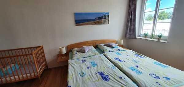 Schlafzimmer unter