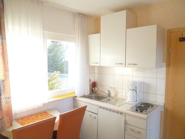 Helles Wohnzimmer, ideal für 1 bis 2 Personen