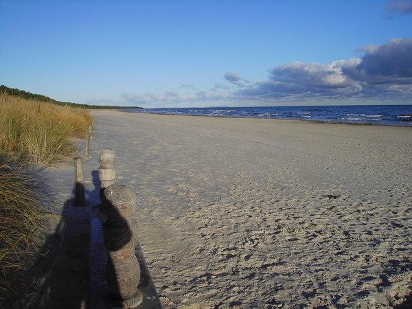winterlicher Strand