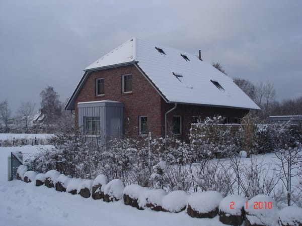 Haus 3f im Winter