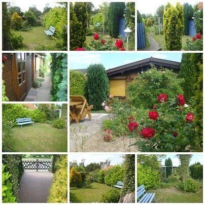 eingezäunter Garten