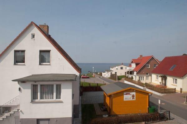 Blick vom Wohnbereich