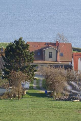 Blick auf die Eingangsseite Lotsenhaus