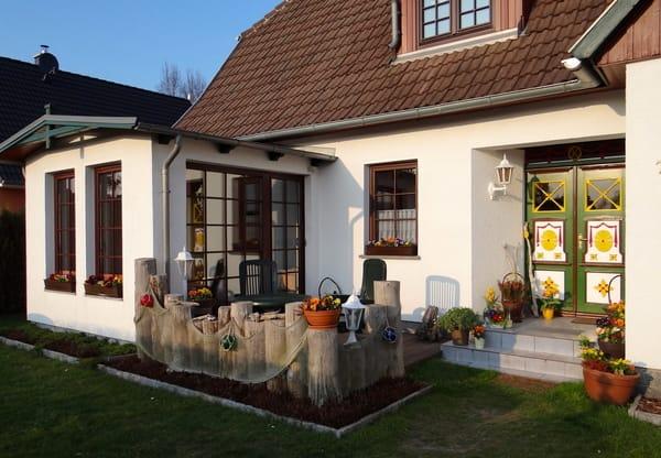 Terrasse mit separatem Eingang