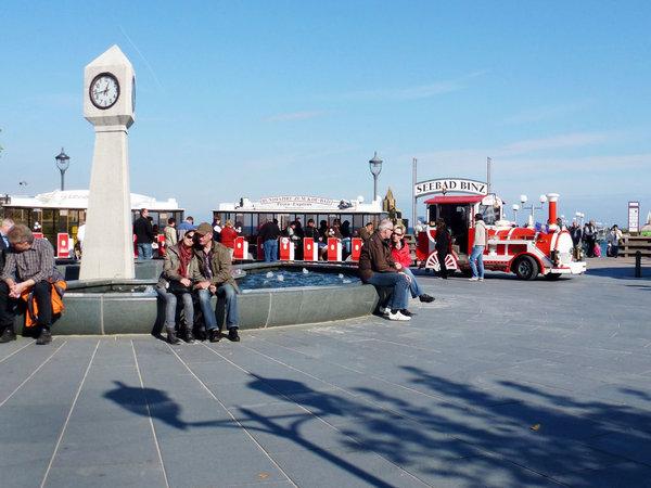 Kurplatz vor der Seebrücke
