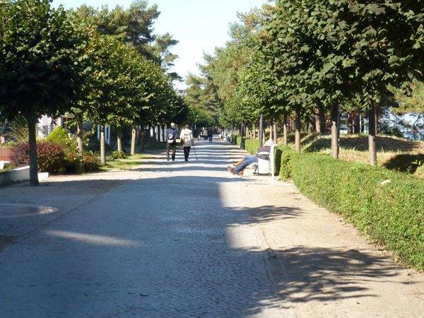 Promenade von Binz