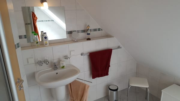 Dusch-Bad im DG