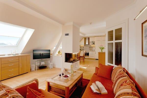 Ein Lift hebt Sie in den 2. Stock der Villa Gruner - direkt zu Ihrem exklusiven Urlaubsquartier.