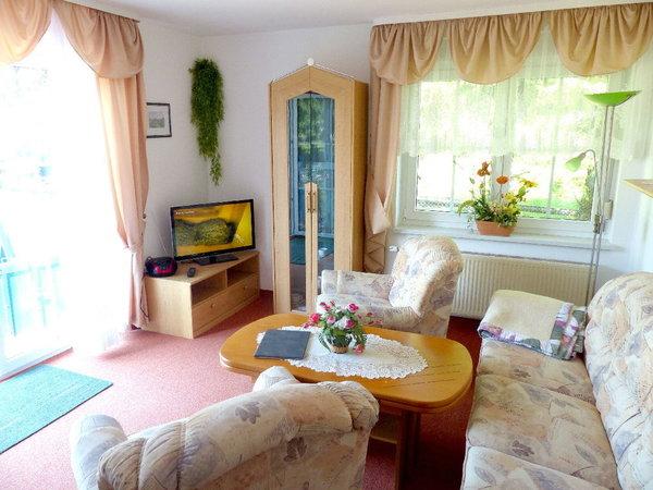 Wohnzimmer mit Terrasse.TV und WLAN
