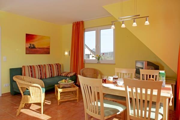 Wohnzimmer im Essecke