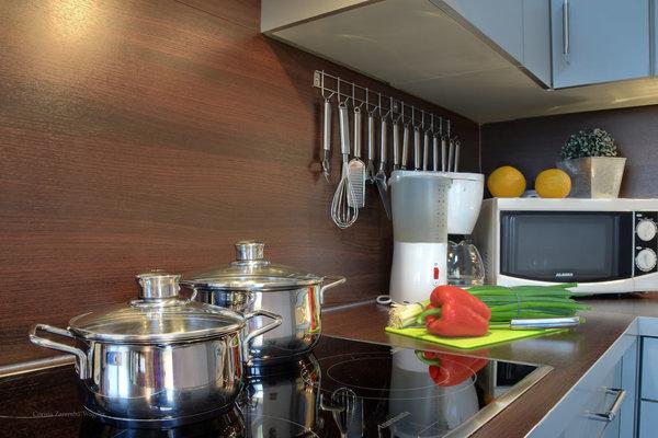 Die Küchenausstattung läßt kaum Wünsche offen